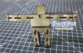 Elasti-Bot: el robot madera desechables
