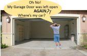 Automáticas de garaje puerta abierta/cerrada Checker