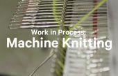 Trabajo en proceso: máquina para hacer punto