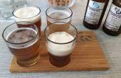 Con Ikea y CNC kit de degustación de cerveza