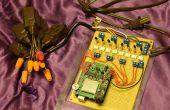 Luces de Navidad de música usando Arduino