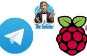 Configurar Bot telegrama en frambuesa Pi