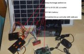 Cargado de la batería de plomo 12V solar