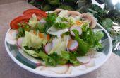 Mantener la ensalada verde fresco!
