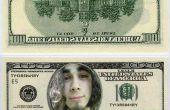 Cómo poner una cara en un dólar proyecto de ley (y hacer mini billetes de un dólar)
