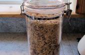 Tostadas receta de Muesli de avena y tuerca