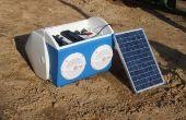 Solar cargo Stereo refrigerador