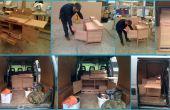 Construcción de cocina pequeña (todo en una unidad de cocina/mesa y silla)