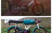 Construcción de una moto: ciclomotor Custom Honda Hobbit