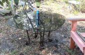 Papelera para mesa de jardín-patio del tesoro 5