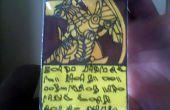 Falsificar tarjetas de yugioh