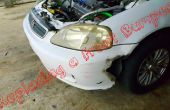 Sustitución de un parachoques delantero (Honda Civic 1999)!