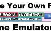 Hacer su propio falso juego emulador Ad