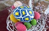 Arcilla del polímero huevos