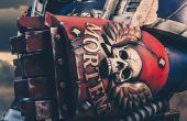 3D imprimir un puño de poder articulado Warhammer 40k