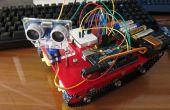 Mi sexto proyecto: Elegante chasis tanque con Sensor ultrasónico