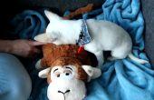 Un juguete de perro RFID con sonidos