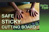 Hacer seguro su tabla de cortar