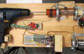 Control de mano taladro con Roboduino / Arduino al carrete de soldadura