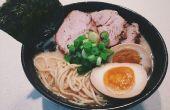 Cómo hacer un Ramen de caldo de cerdo japonés