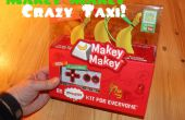 Crazy Taxi personalizado regulador del juego Video con Makey Makey