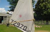 Aparejo de windsurf de bambú