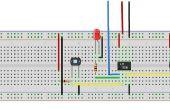 Llama Simple DIY siguiente Robot sin microcontrolador