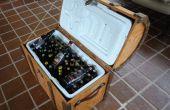 Pirata de pecho cerveza refrigerador