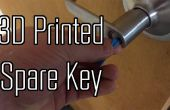3D imprimir una clave totalmente funcional