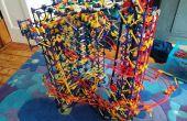Tres pequeñas torres - una máquina de la bola de K'nex