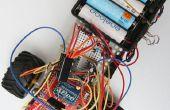 Control de Radio de coche de Arduino a través de la pantalla de la Web