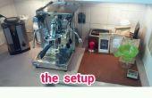 Luz de relleno de tanque de la máquina de espresso