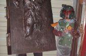Han Solo en carbonita traje