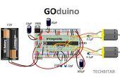 GOduino - el Arduino Uno + clone Driver de Motor