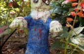 Halloween Zombie jardín Gnome