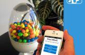 SnackBot: Internet había conectado máquina del caramelo!