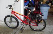 Motor Eater bicicleta (impulsión de la fricción) de malezas