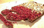 Hacer tu propio plato delicioso de chocolate