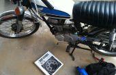 Cambiar el aceite en un vintage Honda CB100
