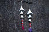 Cómo hacer colgantes de arcilla | Sala bricolaje decoraciones para el día de San Valentín
