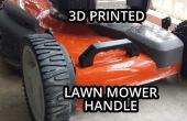 3D impresas manija del cortacéspedes de césped
