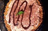 Gluten Free Chocolate naranja crema Pretzel Pie
