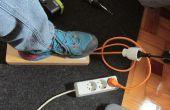 Taladro/Dremel prensa pedal