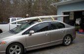 Cómo construí un portaequipajes robusto para una tabla de windsurf/surf