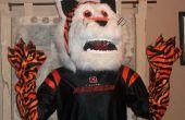 "BRICOLAJE casero Cincinnati Bengals tigre mascota ""Que Dey"""