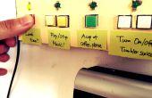 Cuadro de botón de macro para el hogar Smart
