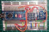 HMC5883L magnetómetro con desplazador del nivel en el arduino nano