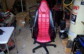 Girar a un Racing asiento en una silla de oficina