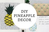 DECORACIÓN DIY piña