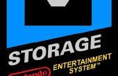 Cartucho NES de disco y puerto de consola